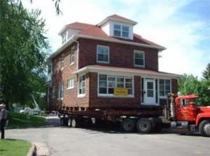 maison sur camion
