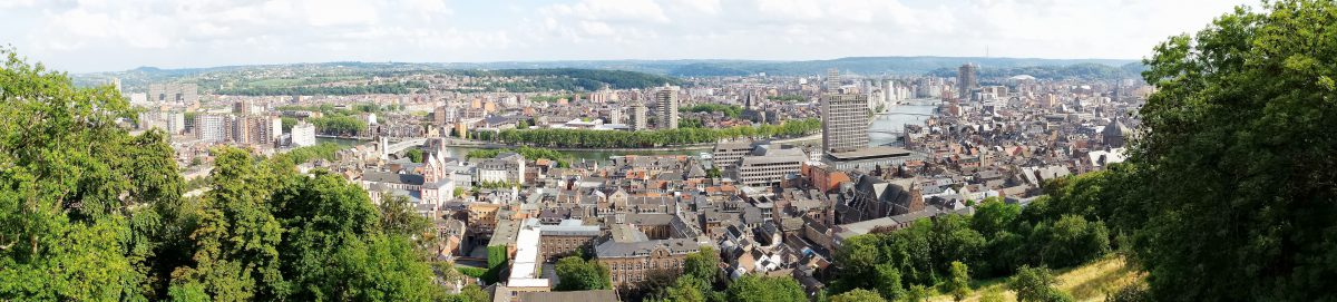 Quel est le prix moyen des terrains en province de Liège ?