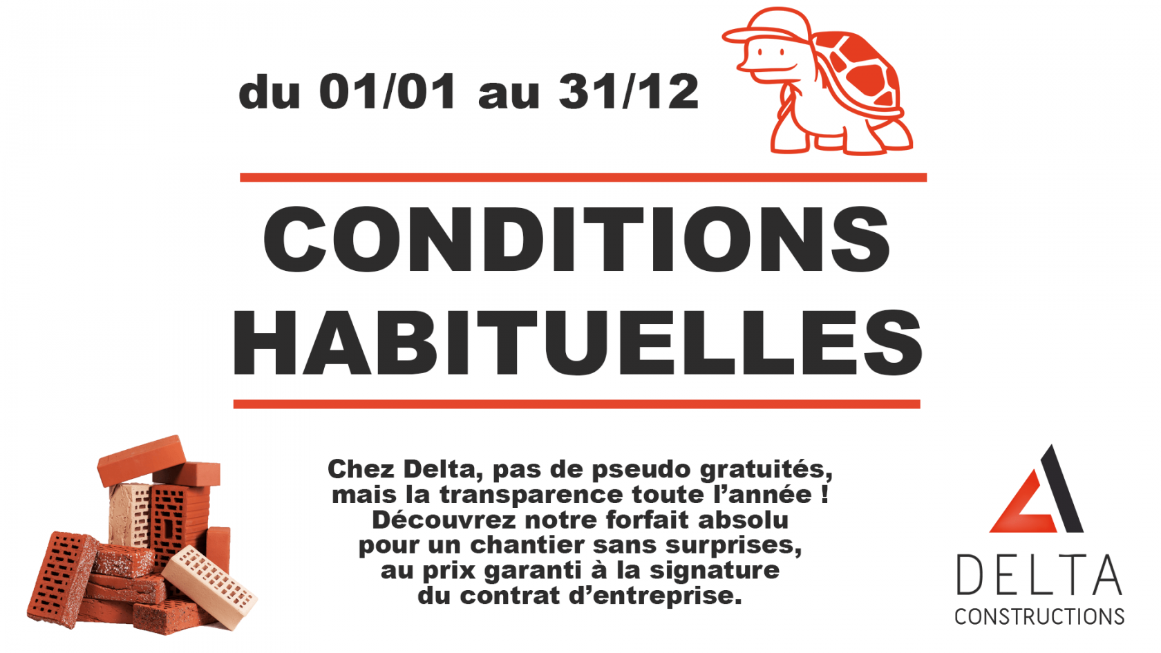 delta conditions habituelles
