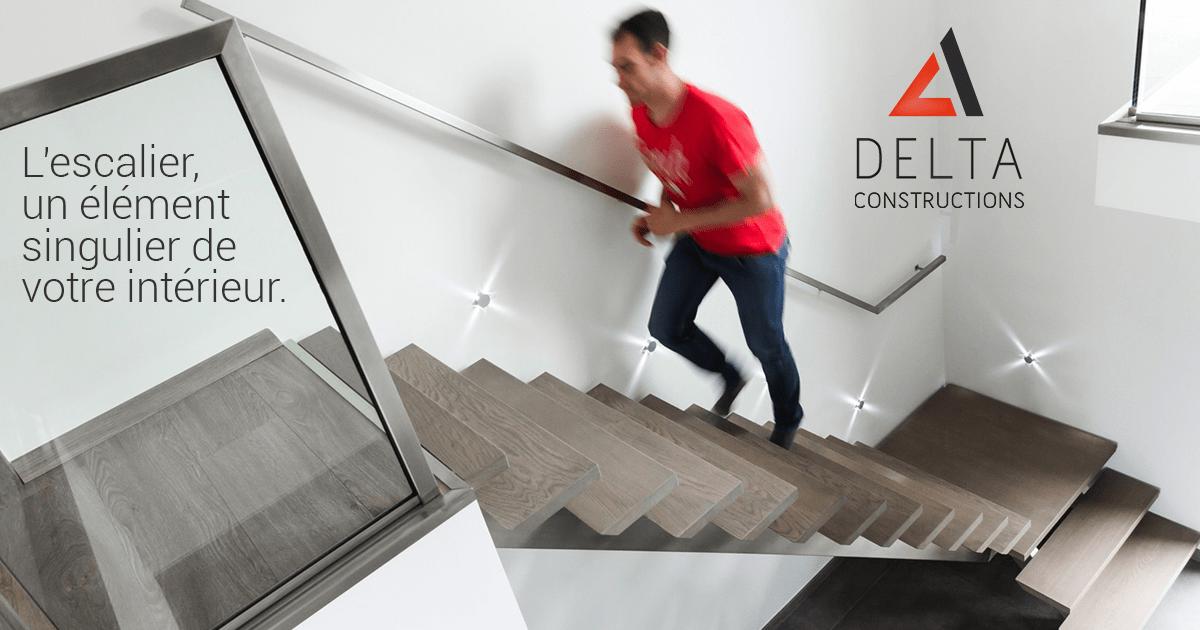 L'escalier, un élément singulier de votre intérieur.