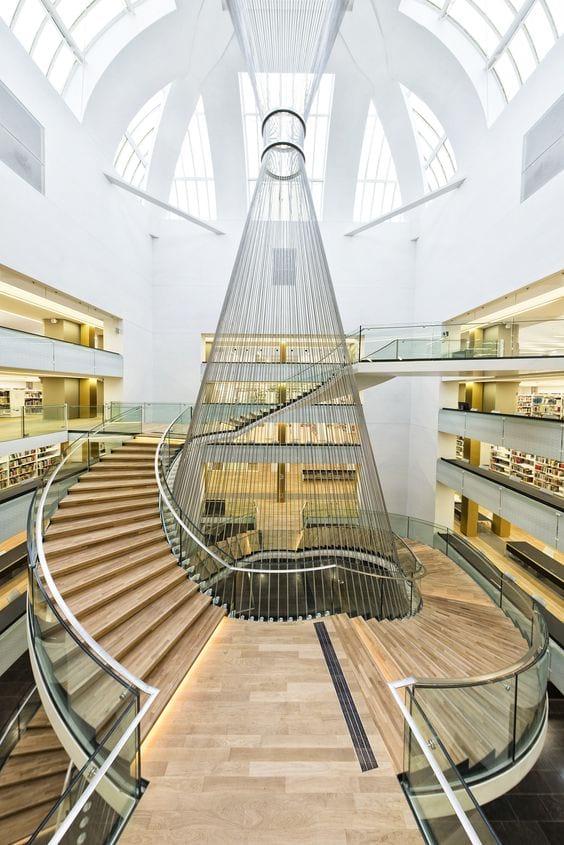 delta constructions l 39 escalier l ment singulier de votre int rieur contemporain. Black Bedroom Furniture Sets. Home Design Ideas