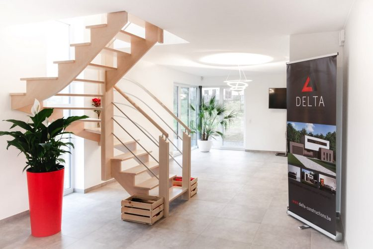 delta constructions escalier contemporain