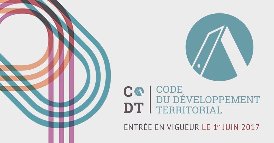 codt code du developpement territorial