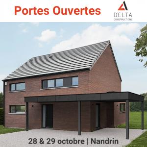 portes ouvertes Delta Constructions Nandrin
