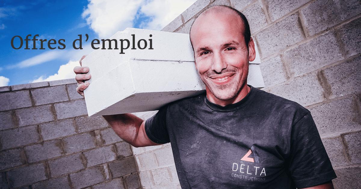 offres d'emploi delta constructions