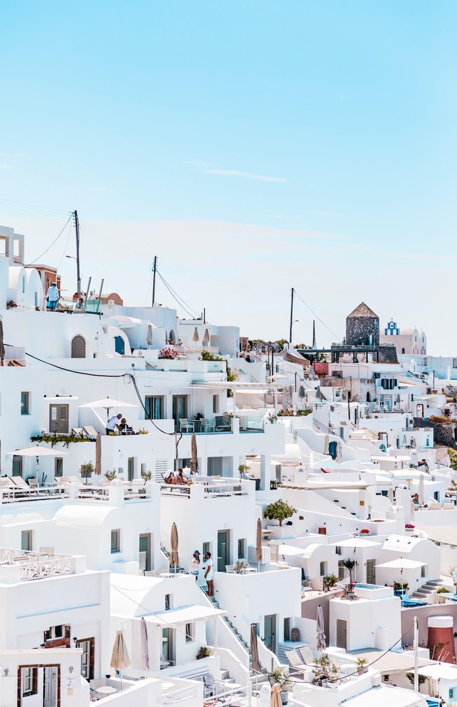 maisons traditionnelle en grèce